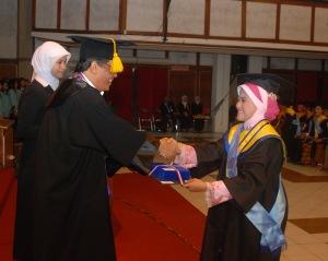 Bersama Rektor UNS Prof Dr Ravik Karsidi