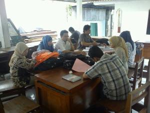 Suasana belajar sebelum ujian